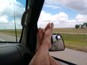 Driving to New Mexico